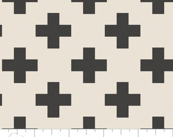 Crib Sheet - Cross In Carbon - Fitted Crib Sheet