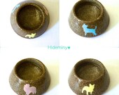 Mini Mini Dog Bowl Ring Holder-Gift for Dog Lover-One of a kind