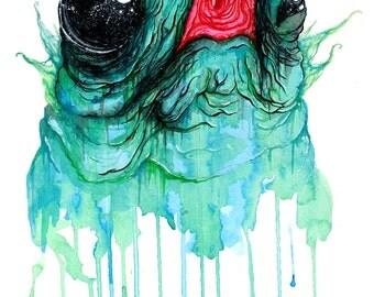 No Man's Blob - Matte Print