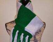 Harry Potter inspired underclass Slytherin scarf