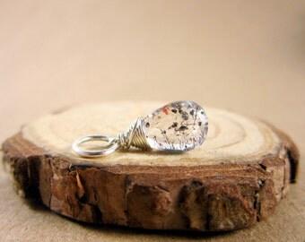 SmP3F - Moss Amethyst Pendant - Mothers Birthstone Amethyst Jewelry - Amethyst Birthstone Gemstone Jewelry - February Birthstone Jewelry