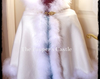 Princess Cape / Cloak / Shawl - Girls/Child's/Toddler  - Perfect Costume Accessory