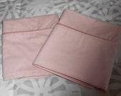 Vintage Set Pink Pillowcase by Springs standard size