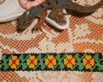Beaded Handmade Vintage Bracelet