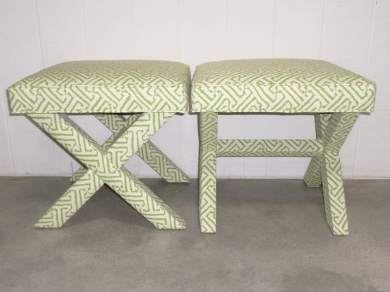 X-Benches - Custom Design Your Own - With ANY Fabric