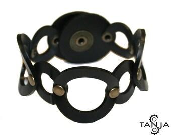 Circle rubber bracelet lll