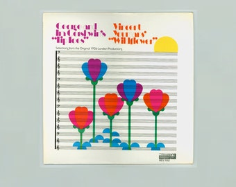 Selections from Tip Toes by George & Ira Gershwin, and Wildflower by Vincent Youmans Vintage Vinyl Record Album Monmouth Evergreen LP