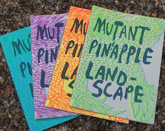 Mutant Pineapple Landscape Zine