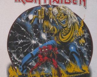 IRON MAIDEN 1983 T SHIRT
