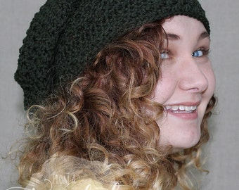 Slouch Hat / Crochet Slouch / Slouch Beanie / THE CADE SLOUCH