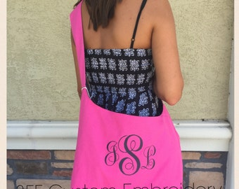 Personalized Monogrammed Crossbody Sling Bag