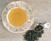 Organic Chun Mee Green Tea • 4 oz. Kraft Bag • Chinese Tea Loose Leaf Tea