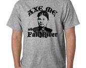 LIZZIE BORDEN shirt - axe me about Fall River tshirt - retro t shirt - serial killer t-shirt men unisex screen printed small through xxxl