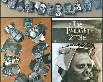 Twilight Zone Garland Banner
