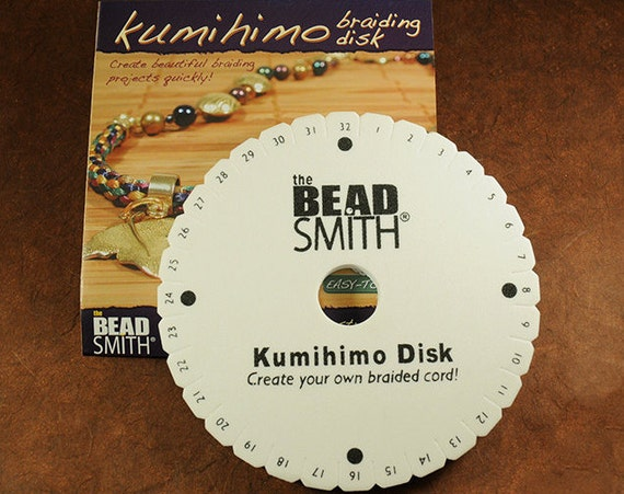 Kumihimo Weaving Disc 6 Inch Round Disc Includes