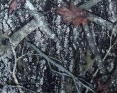 1 Yd Minky Green True Timber Camo Camouflage Yardage