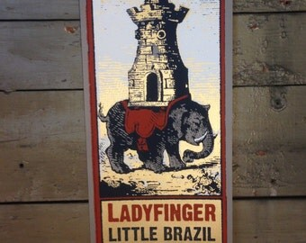 Ladyfinger Screenprint Poster