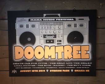 Doomtree Screenprinted Poster