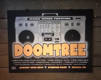 Doomtree Screenprinted Poster