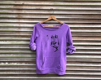 SALE Kitty Shirt, Siamese Shirt, Size S,XL