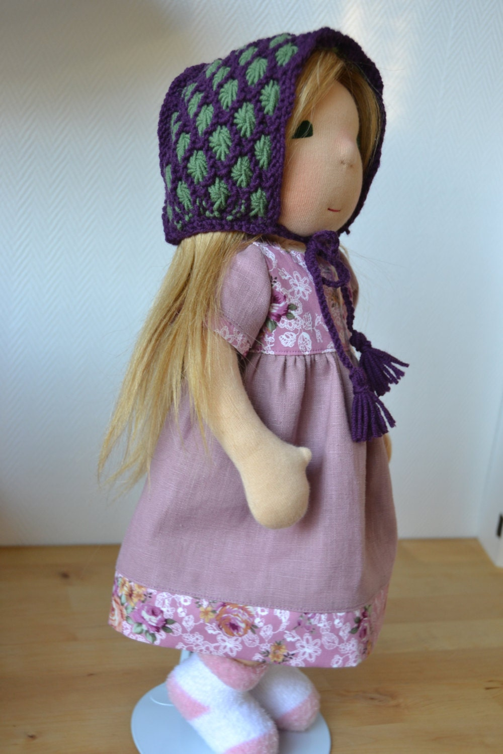 Waldorf doll carrie steiner doll fabric doll waldorf - Material waldorf ...