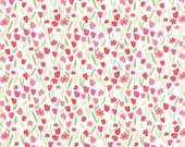 Aria Abloom in Cloud Rose, Kate Spain, 100% Cotton, Moda Fabrics, 27236 11