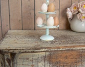 Iron egg holder - Dollhouse - Miniatures- 1 inch scale