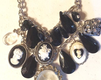 Cameo Handmade Charm Collection Necklace 465