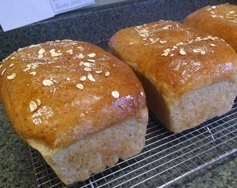 2 loaves of Maple Oatmeal Bread *Only shipped out on Tuesday's*