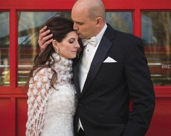 Wedding Shawl, Bridal Cover up, Bridal Wrap, Wedding Bolero, Wedding Shrug, Bridal Shawl, Crochet Shawl, Bridal Cape, Wrap, Shawl, Bolero