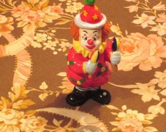 Vintage Clown Christmas Ornament