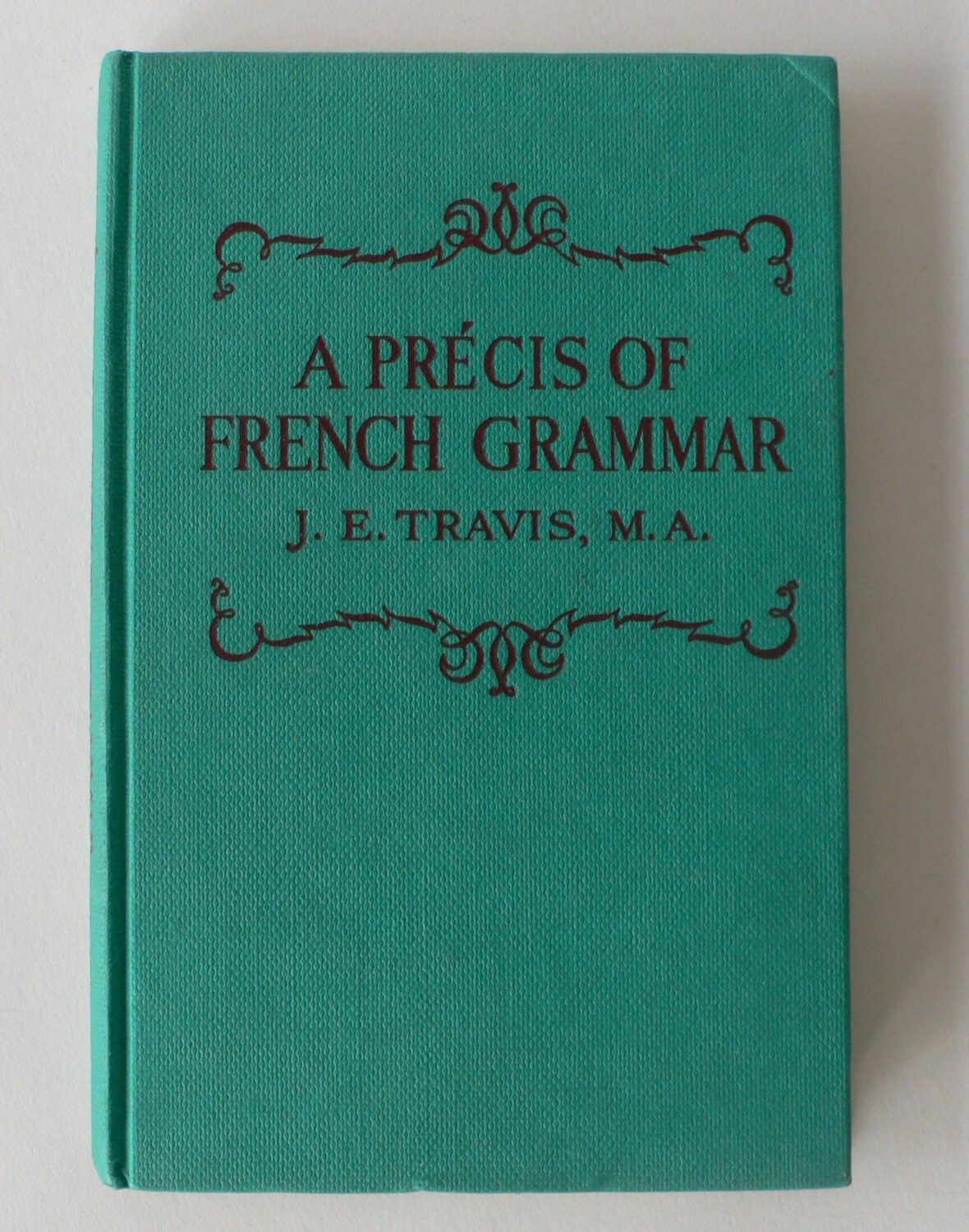 vintage book a precis of french grammar 1969 from diz has. Black Bedroom Furniture Sets. Home Design Ideas