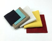 Rilla Raccoon felt bundle, wool felt collection, hand sewing, craft felt, wool craft felt, craft supplies