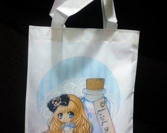 Alice in Wonderland Shopping bag