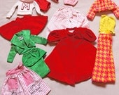 Barbie Doll Clothes Vintage Assortment 1960's