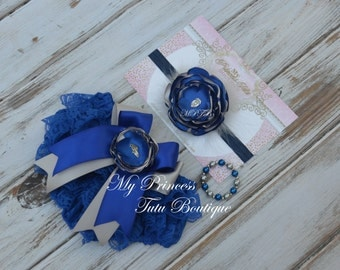 Police Officer Newborn Lace Bloomers Baby Lace Bloomers