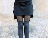 Sheer Women Leggings, Lace Leggings, Grey Leggings, Funky Leggings, Cut Out Leggings, Goth leggings