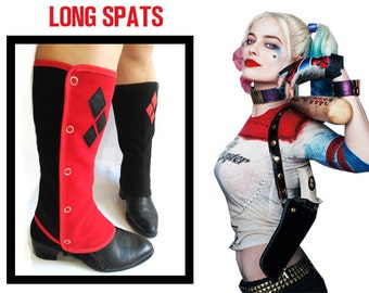 Gaiters Harley Quinn long Spats