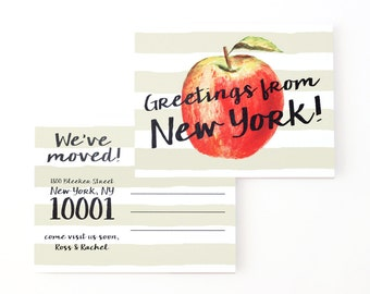 how to change corporation address in ny
