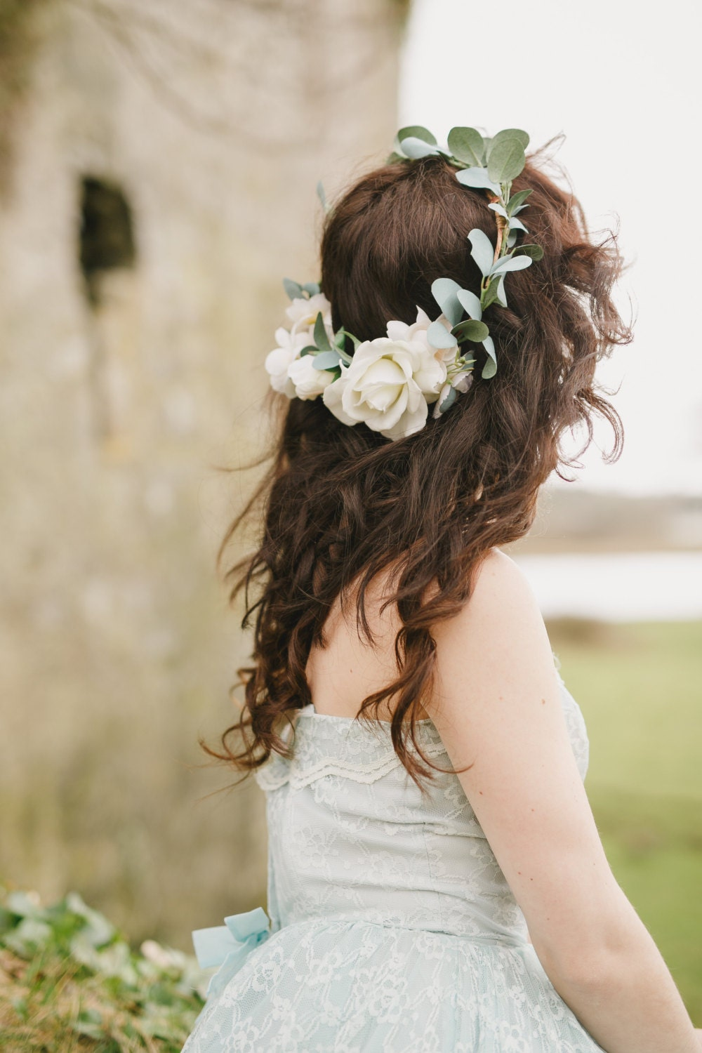 Wedding flower crown tumblr wedding flower crown tumblr jak dobra wedding flower crown tumblr sienna flower crown created with ivory and cream roses izmirmasajfo Image collections
