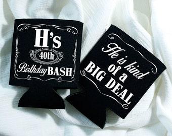 Whiskey Label, Jack Daniels, Whiskey, Big Deal, Birthday Party, Birthday Party Favor, Custom Birthday Party Gifts, Whiskey, Big Deal, 1265