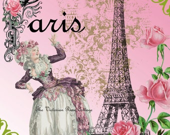 Marie Antoinette Fabric Block - Art Print