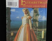 Simplicity Costume Pattern 8881 Elizabethan Gown Dress NEW Sizes 6-12