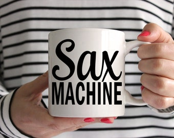 Sax Machine Ceramic Mug