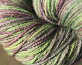 Hand Dyed Yarn, Sock Yarn, Fingering Weight Yarn (Superwash Merino Wool & Nylon): Ministry of Magic