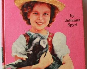 Vintage Shirley Temple edition of Heidi by Johanna Spyri