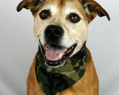 Sale! Camo Dog Bandana