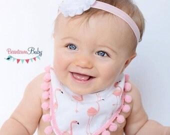 Pink Baby Headband.  Pink Newborn Headband. Pink Headband. Baby Headband. Newborn Headband.