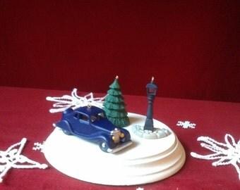 1996 Hallmark Christmas Keepsake Ornament Nostalgic Houses and Shops Set of 3 Miniature Ornaments