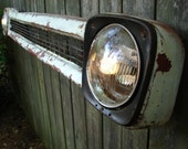 Upcycled 1960s Chevrolet Grille Lighted Wall Decor